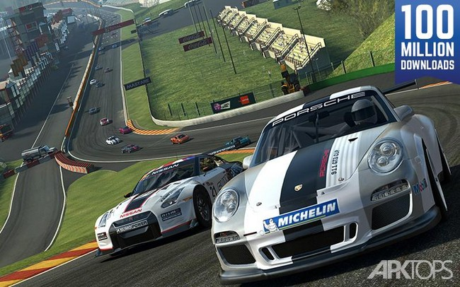 Real Racing 3 v7.2.0 دانلود بازی مسابقات واقعی ماشین 3 + مود