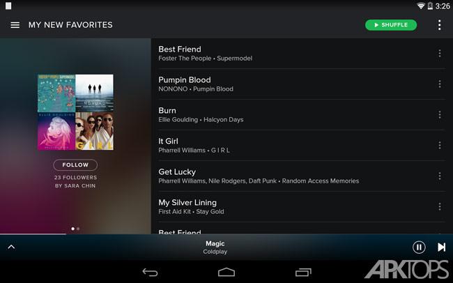 Spotify Music v8.4.79.630 دانلود اسپاتیفای مود + خرید اکانت پرمیوم
