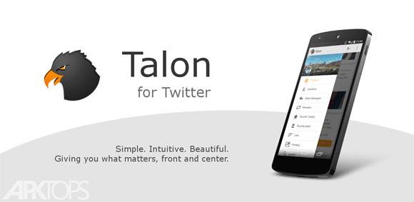 Talon for Twitter (Plus) 3.3.0 دانلود نرم افزار اتصال به توییتر برای اندروید