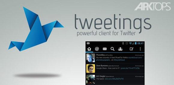 دانلود Tweetings for Twitter 8.0.3 کلاینت قدرتمند توئیتر برای اندروید