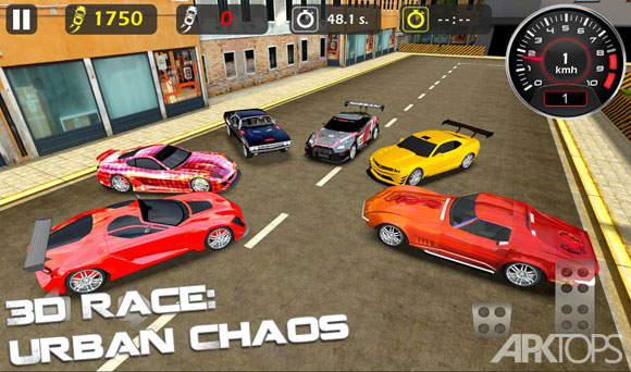 3D-Race-Urban-Chaos