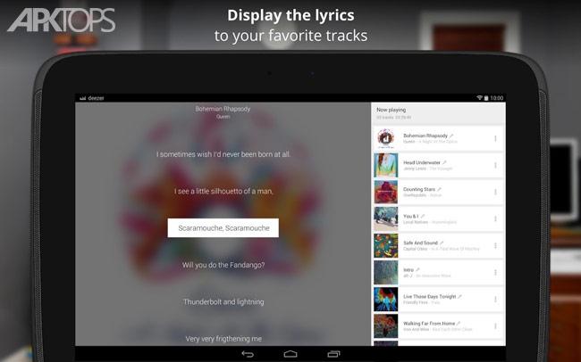 Deezer: Music && Song Streaming Premium Proper v6.0.9.106 دانلود برنامه پخش آنلاین موسیقی برای اندروید