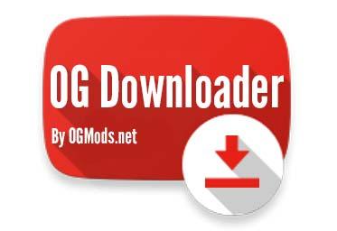 OGYouTube v2.6 دانلود نسخه مود شده برنامه یوتیوب اندروید