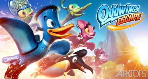 دانلود Oddwings Escape v1.5.1 بازی فرار پرندگان عجیب + مود + دیتا + گیم تریلر برای اندروید