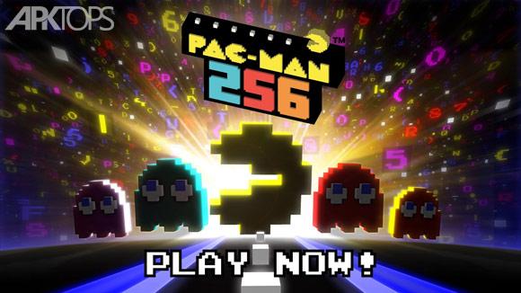 PAC-MAN-256---Endless-Maze
