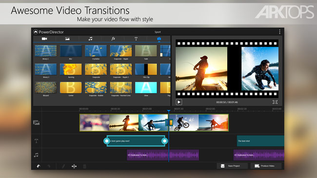PowerDirector Video Editor App v5.3.1 دانلود برنامه ویرایشگر ویدئو