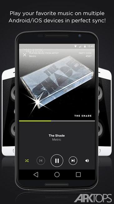 AmpMe – Play Music Louder v7.13.0 تبدیل چند گوشی به یک بلندگوی واحد در اندروید
