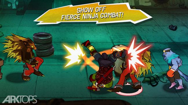 TMNT: Brothers Unite 1.0.3 دانلود بازی لاک پشت های نینجا + مود اندروید