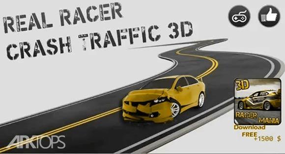 3D Real Racer Crash Traffic - بازی تصادفات ترافیکی