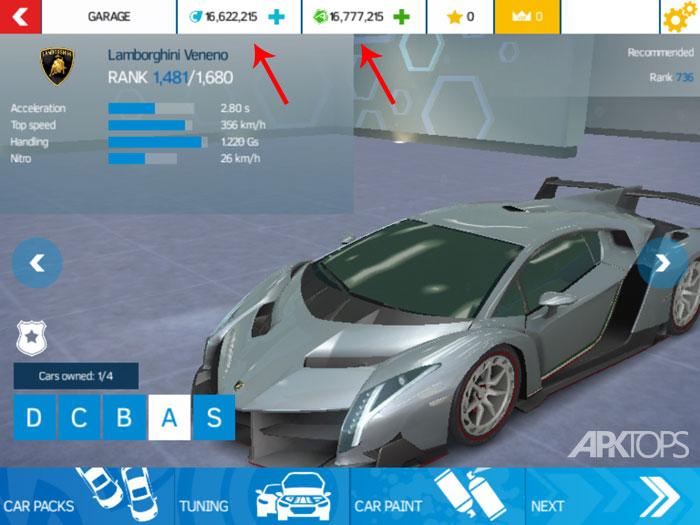 تصویر ثبت شده توسط APKTOPS از نسخه مود شده بازی