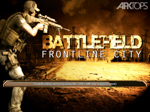 Battlefield-Frontline-City-Downloading-Data