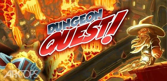 Dungeon Quest - بازی جست و جو در سیاه چال