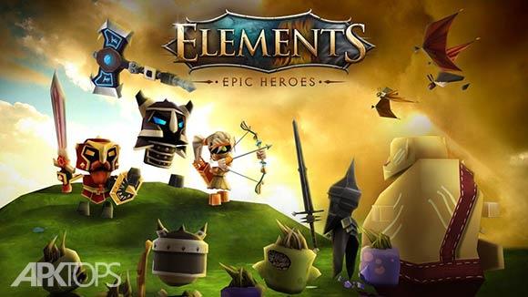 Elements: Epic Heroes - بازی قهرمانان شجاع