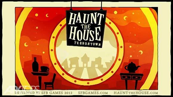 Haunt the House Terrortown - بازی وحشت در خانه : منطقه ارواح