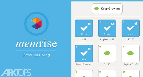 Memrise Learn Languages Free Premium v2.7_3788 دانلود برنامه آموزش زبان برای اندروید