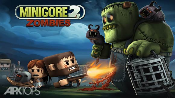 Minigore 2: Zombies - بازی مینی گور 2 : زامبی ها