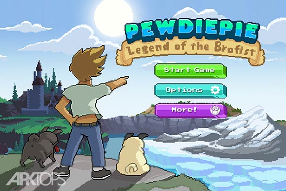 PewDiePie Legend of Brofist
