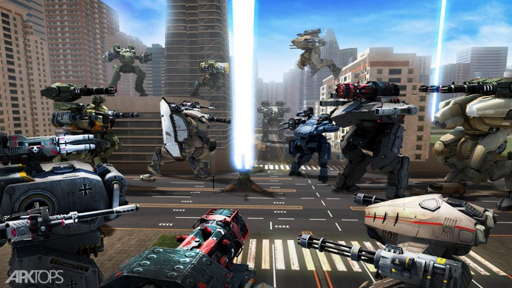 War Robots v5.3.0 دانلود بازی بی نظیر ربات های جنگی + مود اندروید