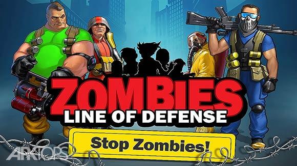zombies-line-of-defense-td - بازی زامبی ها : خط دفاعی