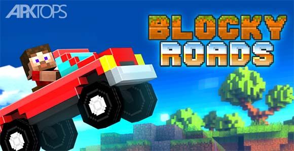 Blocky Roads - بازی جاده های بلوکی
