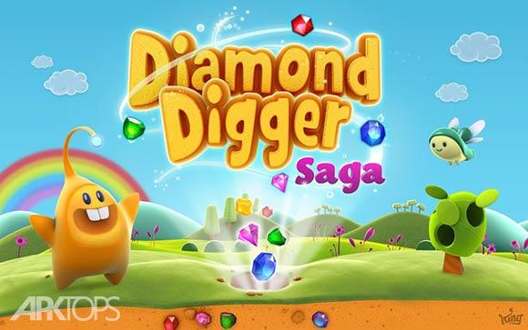 Diamond Digger Saga - بازی جوینده الماس