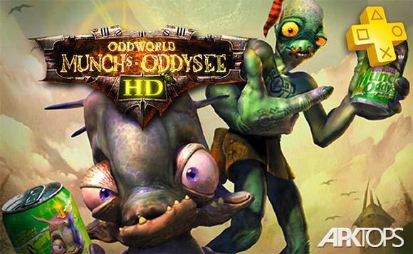 Oddworld Munch's Oddysee - دانلود بازی جهان عجیب : ادیسه مونک