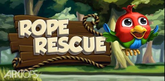 Rope Rescue - بازی طناب نجات اندروید