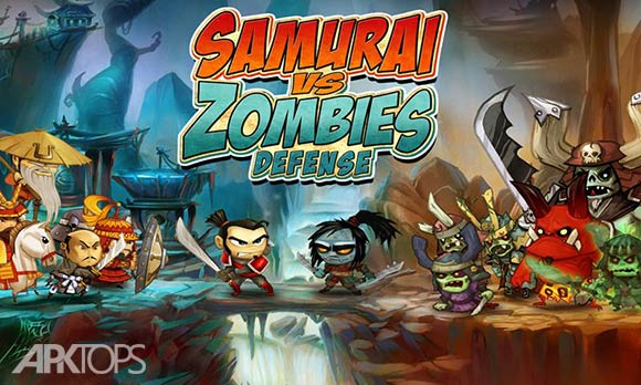 SAMURAI vs ZOMBIES DEFENSE - دانلود بازی سامورایی ها در برابر زامبی ها