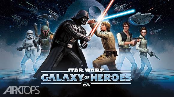 Star Wars: Galaxy of Heroes - بازی جنگ ستارگان : کهکشان قهرمانان