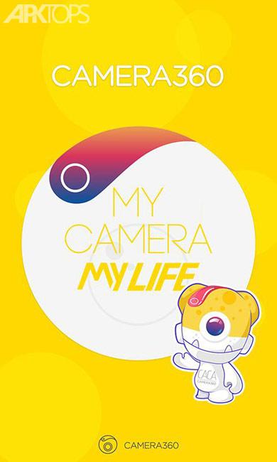 Camera360- Selfie Photo Editor v9.4.5 دانلود برنامه دوربین حرفه ای اندروید