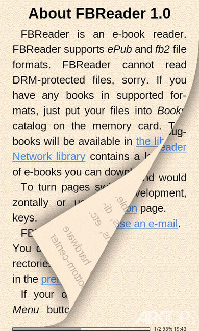 FBReader Premium v3.0.9 دانلود نرم افزار کتابخوان الکترونیک اندروید