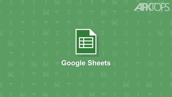 Google-Sheets دانلود نرم افزار اکسل گوگل برای اندروید