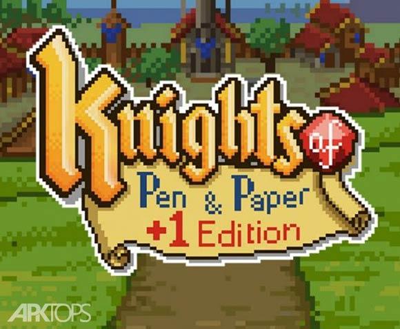 Knights of Pen and Paper - بازی شوالیه های قلم و کاغذ