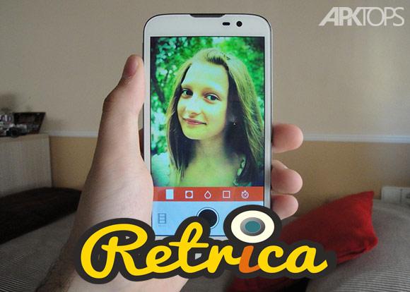 Retrica Pro 2.9 دانلود نرم افزار پرطرفدار عکاسی و ویرایش عکس اندروید