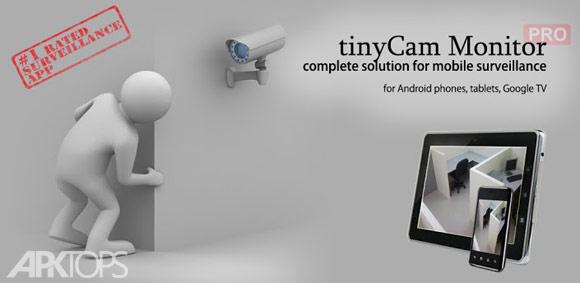 tinyCam Monitor PRO v9.1.1 Final دانلود نرم افزار مدیریت دوربین های مداربسته برای اندروید
