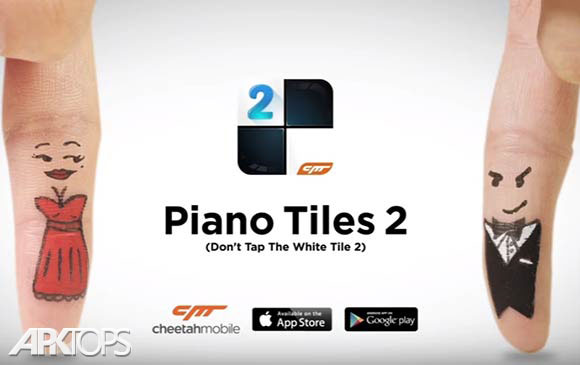 دانلود بازیPiano Tiles 2(Don't Tap...2)