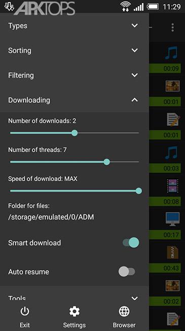 Advanced Download Manager Pro v6.4.0 build 64045  بهترین دانلود منیجر