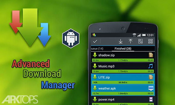 Advanced-Download-Manager دانلود منیجر اندروید