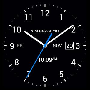 Analog Clock Live Wallpaper7pro V2 31 دانلود لایو والپیپر
