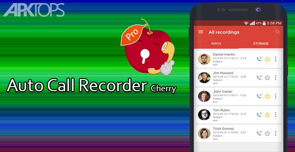 Auto Call Recorder Cherry