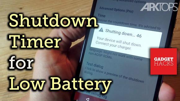 Battery-Shutdown-Manager