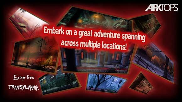 دانلود بازی Escape from Transylvania