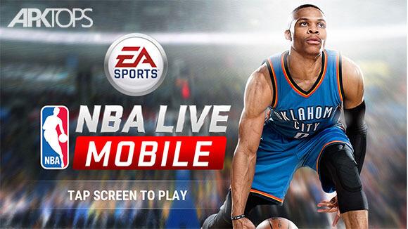 دانلود بازی NBA LIVE Mobile