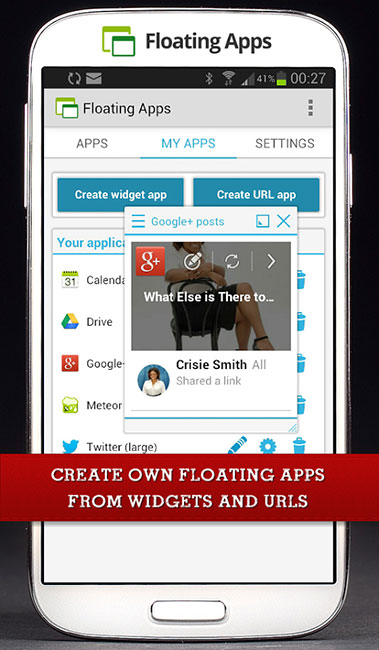 Floating Apps (multitasking) v4.7 اجرای برنامه ها به صورت شناور در اندروید