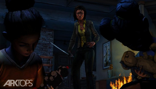 The-Walking-Dead-Michonne-Screenshot-3
