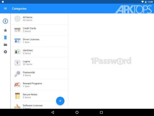1Password – Password Manager Premium v7.0.6 دانلود برنامه مدیریت پسوردها