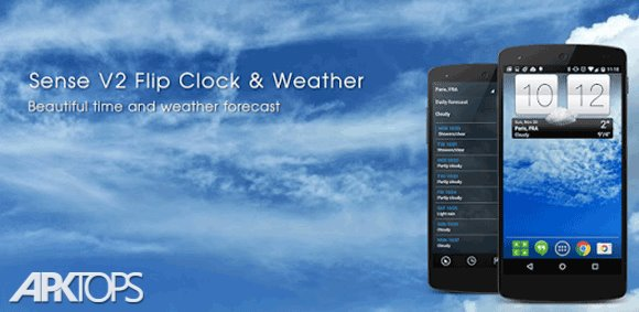 Sense_V2_Flip_Clock_&_Weather_cover