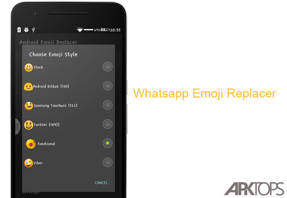 Whatsapp-Emoji-Replacer