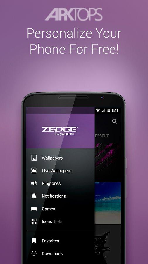 ZEDGE Ringtones && Wallpapers v5.62.5 Ad Free دانلود والپیپر و رینگتون برای اندروید
