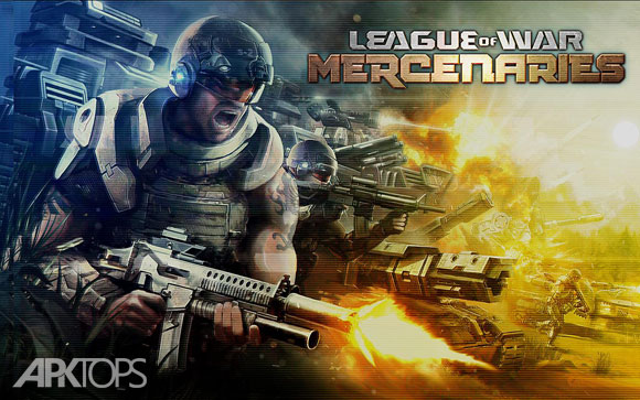 دانلود League of War: Mercenaries